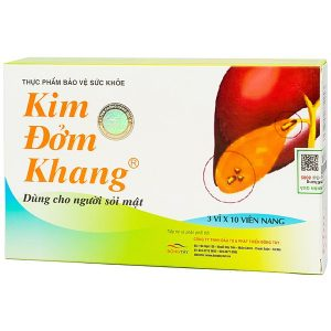 Kim Đởm Khang có chứa tới 8 thảo dược quý có khả năng giải quyết hiệu quả 3 yếu tố để bào mòn sỏi mật thành công, đó là: tăng cường chức năng gan, tăng vận động của đường mật và kháng viêm.