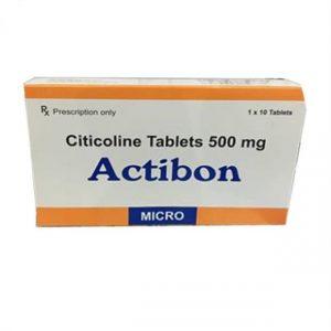 Tác dụng của thuốc Actibon 500mg có chức năng ức chế ngưỡng của vỏ não dựa vào quá trình kích thích vỏ não hoạt hóa dưới dạng lưới,qua đó làm tăng chức năng thần kinh thực vật cũng như chức năng vận động.