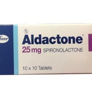 Aldactone 25mg điều trị cao huyết áp vô căn. Điều trị ngắn hạn trước phẫu thuật cho bệnh nhân tăng aldosteron nguyên phát. Suy tim sung huyết. Các bệnh trong đó có thể xuất hiện chứng tăng aldosteron thứ phát.