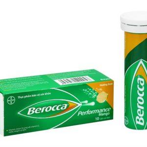 Viên sủi bổ sung Vitamin Berocca Performance dùng để phòng ngừa và bổ sung trong các tình trạng tăng nhu cầu hoặc tăng nguy cơ thiếu Vitamin, như khi bị stress hoặc mệt mỏi, bứt rứt khó chịu, mất ngủ