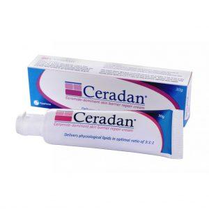 Ceradan 30g dưỡng ẩm dành cho da khô, nhạy cảm, da kích ứng. Ceradan bổ sung các thành phần tự nhiên giúp phục hồi hàng rào bảo vệ da làm giảm sự mất nước qua da.