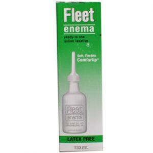 Fleet Enema 133ml điều trị táo bón, làm sạch đại tràng để chuẩn bị nội soi đại tràng, chụp X-quang, phẫu thuật đại tràng.
