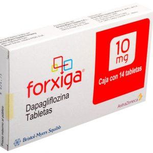 Forxiga 10Mg điều trị đái tháo đường týp 2 ở bệnh nhân ≥ 18t; đơn trị liệu (khi chế độ ăn kiêng và luyện tập không kiểm soát tốt đường huyết & không dung nạp metformin) hoặc phối hợp thuốc làm giảm đường huyết khác kể cả insulin (khi các thuốc này kết hợp chế độ ăn kiêng và luyện tập không kiểm soát tốt đường huyết).