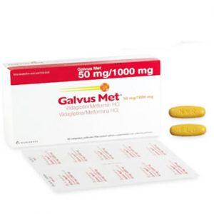 Galvus Met 50mg /1000mg được chỉ định như một thuốc bổ trợ cho chế độ ăn và luyện tập để cải thiện đường huyết ở bệnh nhân đái tháo đường týp 2 không kiểm soát được đường huyết đạt yêu cầu khi dùng metformin hydrochlorid hoặc những bệnh nhân đang điều trị phối hợp bằng các viên vildagliptin và viên metformin hydrochlorid riêng rẽ.