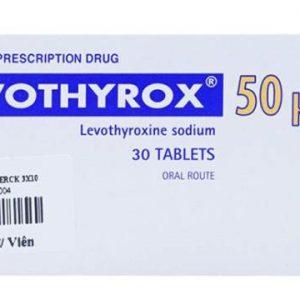 Thuốc Levothyrox 50 mg điều trị nhược giáp. Phòng ngừa tái phát bướu giáp lành. Cường giáp đã đưa về bình giáp. Sau phẫu thuật bướu ác tính.