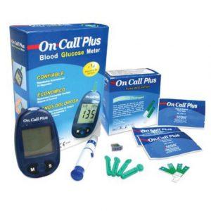 Máy đo đường huyết On Call Plus là thiết bị chăm sóc sức khỏe cho bạn và cả gia đình giúp đo lượng đường trong máu với kết quả chính xác. Sản phẩm với tính năng tự động cài mã cho quen thử hỗ trợ tránh sai lệch kết quả.