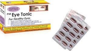 PM Eye Tonic Giúp điều trị mỏi mắt, căng mắt ở trẻ em và người lớn. Tăng cường chức năng của mắt. Giúp mắt đáp ứng được với sự thay đổi cường độ ánh sáng.