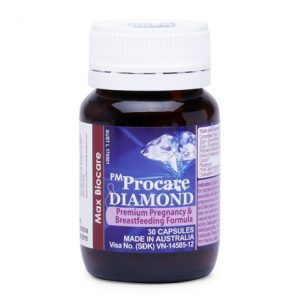 Procare Diamond chứa acid béo Omega-3 bao gồm EPA và DHA hàm lượng cao: đáp ứng đủ lượng DHA khuyến nghị cho phụ nữ có thai và cho con bú mỗi ngày (tối thiểu 200mg/ngày). Cần thiết cho sự phát triển não của thai nhi và trẻ, cho các trường hợp thai to và làm giảm nguy cơ sinh non. Cho các trường hợp đa thai và có thai liên tục để đáp ứng nhu cầu Omega-3 tăng cao ở những bà mẹ này.