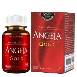 Sâm Angela Gold Paul Brands giúp làn da căng sáng từ bên trong, tăng cường sinh lý nữ, cải thiện các triệu chứng: khô âm đạo, giảm ham muốn, khó đạt khoái cảm, thiết lập sự cân bằng nội sinh có lợi cho hormone nữ.
