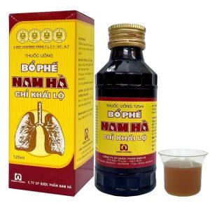 Thuốc uống bổ phế Nam Hà chỉ khái lộ chữa ho tiêu đờm, chuyên trị ho cảm, ho gió, ho khan, viêm phế quản.