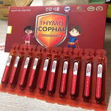 Thymo cophar hỗ trợ tăng sức đề kháng cho trẻ, hỗ trợ giảm tình trạng hay ốm ở trẻ nhỏ do sức đề kháng kém, tốt cho người mới ốm dậy đang trong thời kỳ dưỡng bệnh.