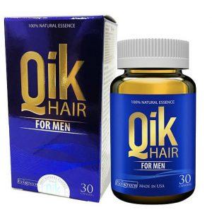 Thực phẩm chức năng chăm sóc tóc cho nam Qik Hair For Men Paul Brands công thức CLI-α (Alpha) chuyên biệt cho nam giới, chứa các tinh chất thiên nhiên, giúp cân bằng thần kinh nội tiết, bảo vệ và tăng trưởng tế bào mầm tóc.