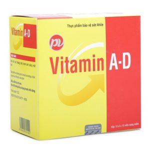 Bổ sung vitamin A, D; giúp phòng ngừa thiếu vitamin A, D cho trẻ em, phụ nữ đang mang thai hoặc cho con bú, người cao tuổi, hỗ trợ điều trị còi xương, suy dinh dưỡng ở trẻ em: loãng xương ở người cao tuổi...
